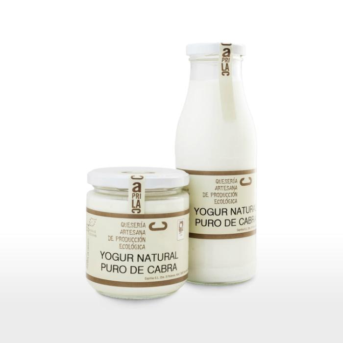 Yogur natural de cabra